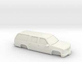 1/87 1994-99 GMC Suburban  in White Natural Versatile Plastic