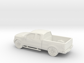 1/87 2010 Lincoln Mark LT in White Natural Versatile Plastic