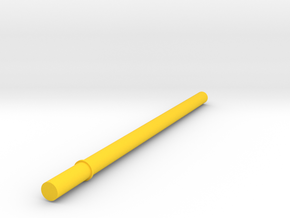 Key Handle Shaft (4 of 9) in Yellow Processed Versatile Plastic