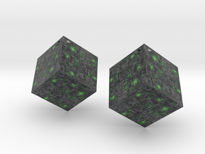 Borg Cube in Full Color Sandstone