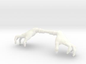 HandsFemaleClaw in White Processed Versatile Plastic