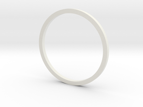 F1 Nozzle Ext Ring 1:36 in White Natural Versatile Plastic