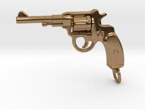 Russian Gun - NAGANT in Natural Brass