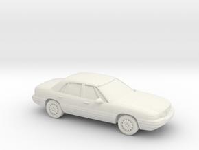 1/87 1998 Buick LeSabre in White Natural Versatile Plastic