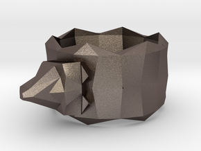 Napkin Holder Wolf in Stainless Steel
