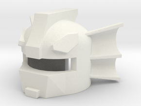 Robohelmet: Ear-wings in White Natural Versatile Plastic