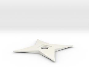 Throwing Blade in White Natural Versatile Plastic
