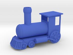 Ornament, Toy Train in Blue Processed Versatile Plastic