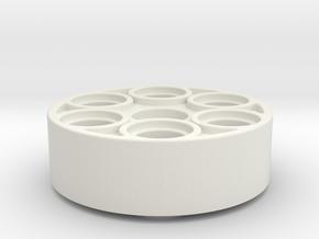 Servohorn 24z in White Natural Versatile Plastic