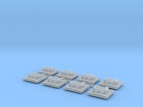 GN 15 Kupplungsführungen für Fallhakenkupplung in Smooth Fine Detail Plastic