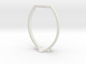 Artec EVA 3D Scanner Lantern Rig in White Natural Versatile Plastic