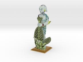 LARGE Zora Statue from Zelda Majora's Mask in Full Color Sandstone