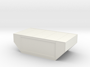N Scale LD-29 air cargo container 1:160 in White Natural Versatile Plastic