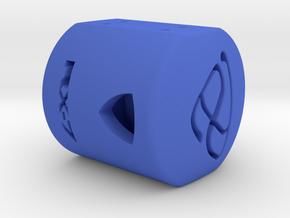 Rotary Shift Knob in Blue Processed Versatile Plastic
