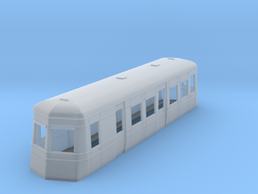 009 streamlined railcar  in Smooth Fine Detail Plastic
