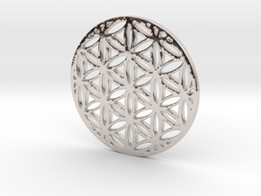 Flower of Life in Platinum