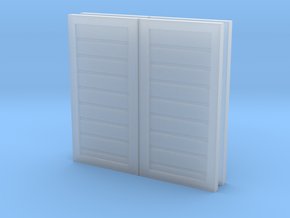 OO Tram Engine Doors (Bachmann Toby) in Smooth Fine Detail Plastic