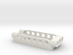Servomount in White Natural Versatile Plastic