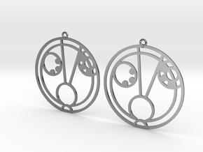 Hazel - Earrings - Series 1 in Premium Silver