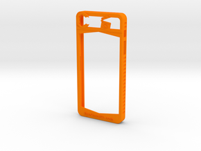 IPhone 5/5S in Orange Processed Versatile Plastic