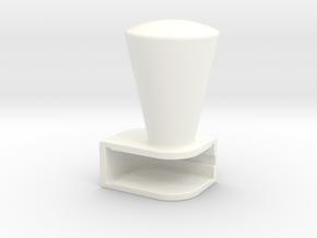 Iphone4 & Iphone4S Cone in White Processed Versatile Plastic