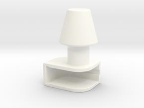 Iphone4 & Iphone4S Shade in White Processed Versatile Plastic