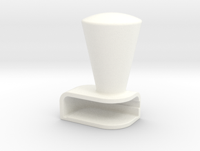 Iphone5C Cone in White Processed Versatile Plastic