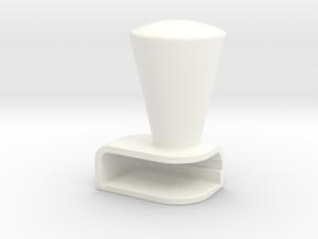 Iphone5C Cone in White Processed Versatile Plastic