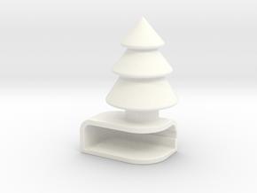 Iphone5C Tree in White Processed Versatile Plastic