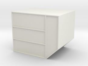 N LD-3 Air Cargo Container 1:160 in White Natural Versatile Plastic