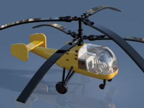 023A Kamov Ka-15 1/144 in Smooth Fine Detail Plastic