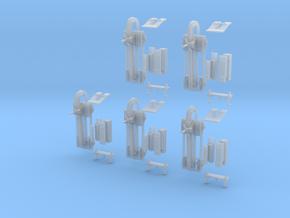 1-120 5xSets Schienenwolf RailRipper in Smooth Fine Detail Plastic