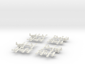 G42 Connecting Rods(O/1:48 Scale) in White Strong & Flexible