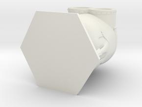 Despicable Me Minion in White Natural Versatile Plastic