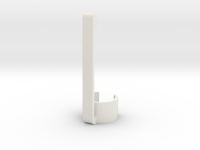 Stylus & Pen Clip - 11.5mm in White Natural Versatile Plastic