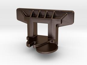 VR ACN Tender Pocket [Cast Type] - STEEL in Polished Bronze Steel