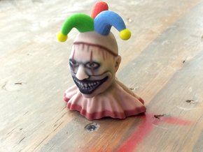 Twisty The Jester  in Full Color Sandstone