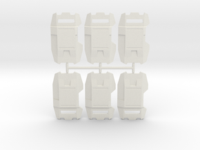 Phalanx Shield Pack in White Strong & Flexible