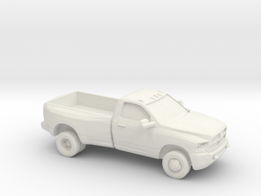 1/87 2013 Dodge Ram Reg Cab Dually in White Strong & Flexible