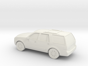 1/87 2007 Lincoln Navigator in White Natural Versatile Plastic