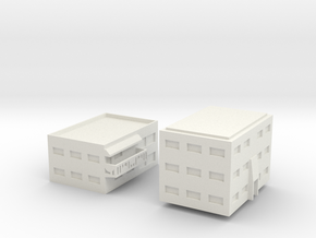 "Apartment ""C"" Modular Series 1 in White Strong & Flexible"