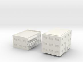 """Apartment """"C"""" Modular Series 1 in White Natural Versatile Plastic"""