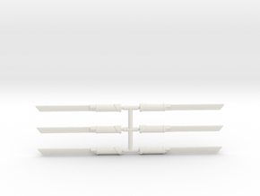 Assassins Blade Pack in White Natural Versatile Plastic