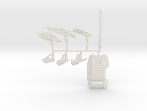 Cerberus Weapons Pack in White Natural Versatile Plastic