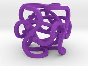 Dice59 in Purple Processed Versatile Plastic