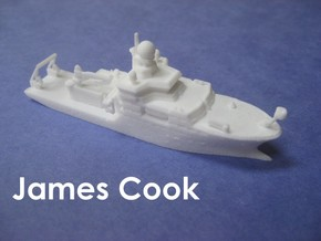 RRS James Cook (1:1200) in White Strong & Flexible