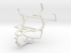 Controller mount for PS4 & LG KS10 in White Natural Versatile Plastic