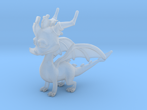 Spyro the Dragon in Smooth Fine Detail Plastic
