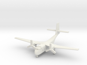 1/285 DHC-4A Caribou in White Natural Versatile Plastic