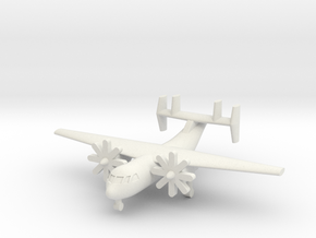 1/285 C-2A(R) Greyhound in White Natural Versatile Plastic
